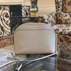 Michael Kors large Emmy chain crossbody handbag